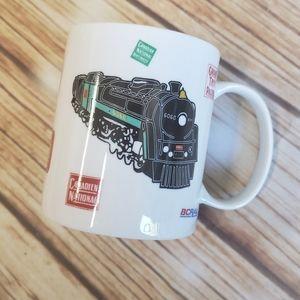 Vintage CN Railroad Train Coffee Mug 80s 90s